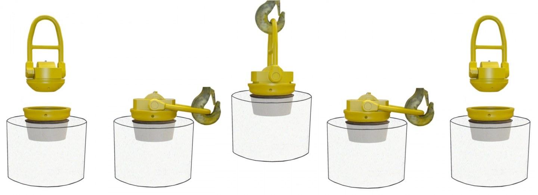 Automatic-lifting-plug